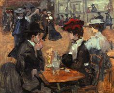 Isaac Israëls (1865-1934), Café dansant, Moulin de la Galette, Paris, olieverf op doek, Museum Flehite, Amersfoort / Collectie Kamerbeek. Foto: Roel de Vringer.