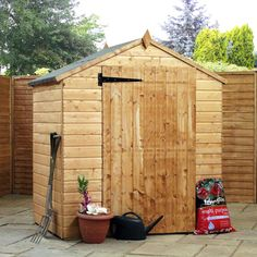Windowless Value Tongue & Groove Shed 4ft x 6ft