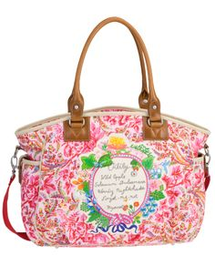 8d443ce4a75 Dutch Flower carryall from Oilily Gucci Purses, Everything Pink, Fashion  Books, Kids Fashion