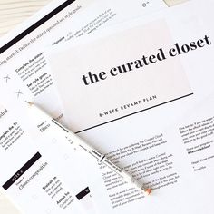 Some cool news: I've partnered up with @cladwellteam to offer anyone who pre-orders The Curated Closet $5 off their Capsules app. On top of that you also get a free 8-week revamp plan that you can use alongside the book to overhaul your closet from scratch and keep track of your progress.  Check the blog for more details and instructions on how to claim your two bonuses, plus lots of new sneak peeks inside the book (link in bio)  #thecuratedcloset #twoweekstogo