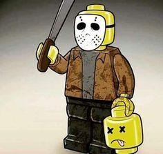 Omg I want LEGO Jason