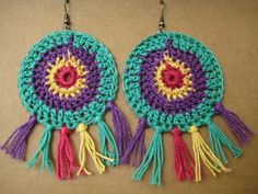 Aros Crochet - $ 40,00 en MercadoLibre