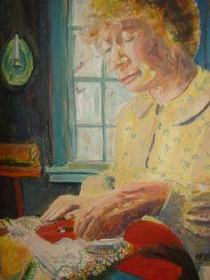 Bobbin Lace by Patsy Kline