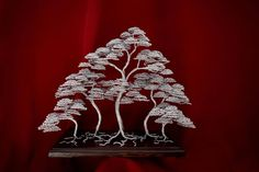 "Check out our website for even more info on ""metal tree art decor"". It is an exceptional spot to read more. Metal Tree Wall Art, Metal Artwork, Wire Tree Sculpture, Wall Sculptures, Primitive Candles, Painting Shower, Popular Crafts, Tree Artwork, Wire Trees"
