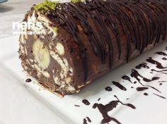 Şahane Rulo Mozaik Pasta ( Harika Kremasıyla )