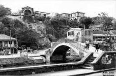 Fort-de-France. Le pont et la fontaine Gueydon.