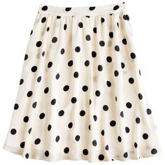 Scatter-dot skirt ($100) ❤ liked on Polyvore featuring skirts, bottoms, saias, dresses, polka dot skirt, shiny skirt, long full skirt, long white skirt and flounce skirt