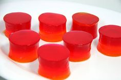 How to Make Tequila Sunrise Jello Shots: 17 steps (with pictures)