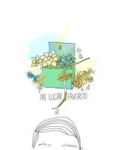 """Capítulo Especial:""""Disco Ilustrado: Hasta la Raíz - Natalia Lafourcade""""8. Mi Lugar Favorito"""