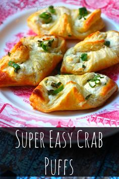 Finger Food Appetizers, Yummy Appetizers, Appetizers For Party, Finger Foods, Appetizer Recipes, Crab Appetizer, Seafood Appetizers, Simple Appetizers, East Appetizers