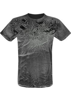 """Classica T-Shirt uomo """"Thunderstorm"""" del brand #OuterVision."""