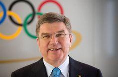 IOC President Thomas Bach Meets the Sochi 2014 Team