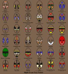 indian face paint - Pesquisa Google