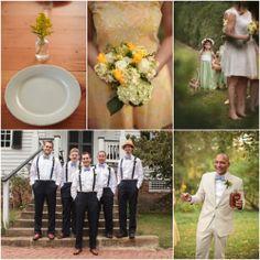 Rustic Country Wedding Ideas | Virginia Farm Wedding At Tuckahoe Plantation - Rustic Wedding Chic
