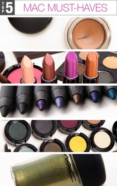 5 Must-Have MAC Makeup Products