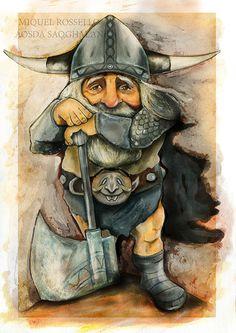 miquel rossello - aosda saoghalan dwarf  miquel rossello - aosda saoghalan #warrior #folk #celt #aosdasaoghalan #miquelrossello #dwarf #fanstasy #guerrero #viking