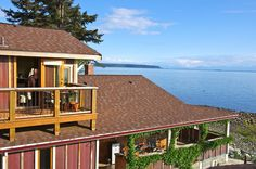 Blitz Beach House costs $85.00 per night, $120.00 high season per night.  Relax and allow yourself to be mesmerized by the view from this charming and cozy oceanfront retreat just a stones throw from the water.  We provide self sufficient accommodation for 2 with cooking facilities, private entrance and deck.  Located 10 minutes south of Lund, 20 minutes north of Powell River.  Open year round.  Please view our website for more photos and details.