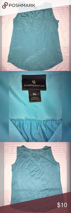 Worthington tank top Cool blousy tank top perfect for the summer! Worthington Tops Blouses