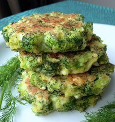 gluten free broccoli feta fritters