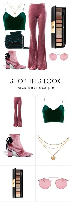 """""""Untitled #19"""" by dfarahd ❤ liked on Polyvore featuring Sans Souci, Robert Clergerie, Yves Saint Laurent, Maison Margiela and N°21"""