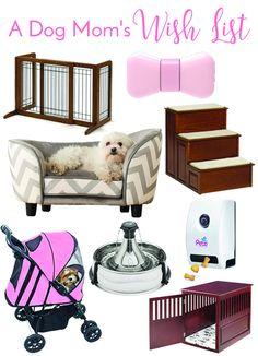 Bringing Home Baby: A Dog Mom's Wish List | http://www.thelazypitbull.com/dog-moms-wish-list/