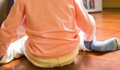 If your kids are sitting like this, you need to make them stop. Now.
