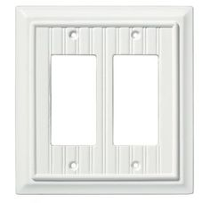 Lowes Wall Plates Amazing Loweslegrand Adorne 2Gang Pale Blue Square Plastic Wall Plate