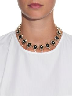 Crystal-embellished necklace | Givenchy | MATCHESFASHION.COM UK