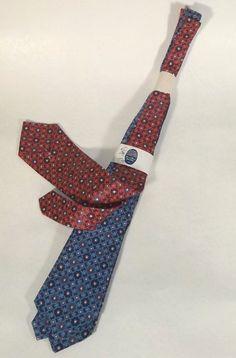 1920s NOS Package of Six Vintage Mens Neck Ties