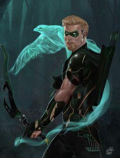 Dc Comics Heroes, Dc Comics Art, Marvel Dc Comics, Marvel Heroes, Arrow Comic, Green Arrow, Batgirl, South Park, Character Art