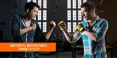 The BIG #BroVsBro season finale starts TONIGHT at 9pm e/p on @w_network in Canada! RT if you're #TeamDrew!!