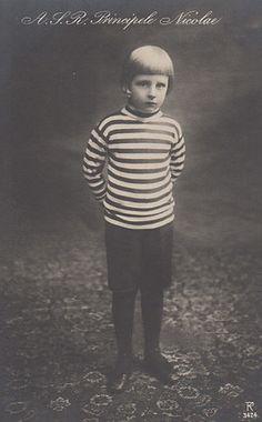 Prinz Nicolae von Rumänien, Prince of Romania 1903 – 1978