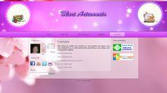 Página de contato do site Mariartesanato