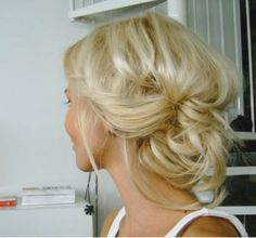 Hairstyles ideas for the wedding