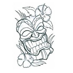 Google Image Result for http://www.tattooscity.com/images/tattoos/3412tiki_mask4.jpg
