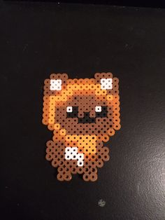 Star Wars Ewok perler bead by Cesar Diaz