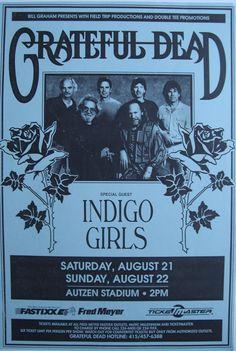Grateful Dead, Indigo Girls