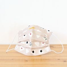 **The fabric is finished with antibacterial and antiodor treatment.**  TEMARIYA offers hand-made masks that are made with soft, skin-friendly double c...