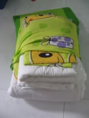 Fold sheets and put them into the pillowcase...duh! so easy! Why didn't I think of that ?