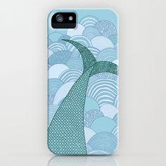 Mermaid iPhone Case by Anita Ivancenko - $35.00