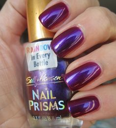 Sally Hansen Nail Prisms Burgundy Orchid
