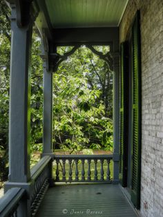 Porch at Grassmere Zoo