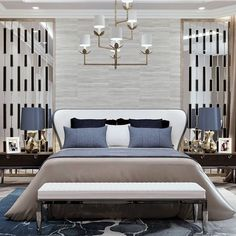 Contempory Bedroom, Modern Bedroom Design, Bed Design, Dream Bedroom, Home Bedroom, Bedroom Furniture, Bedroom Decor, Awesome Bedrooms, Beautiful Bedrooms