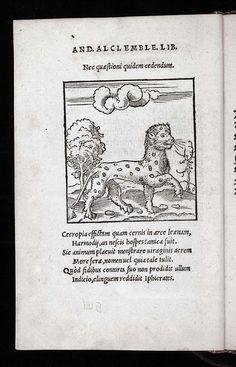 Alciato, Andrea: Livret des emblemes (1536)