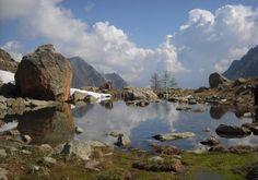 Lago di Sant'Anna di Vinadio #mountains #piemonte #italy #provinciadicuneo