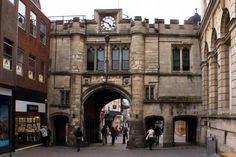 Stonebow Gate, Lincoln High Street