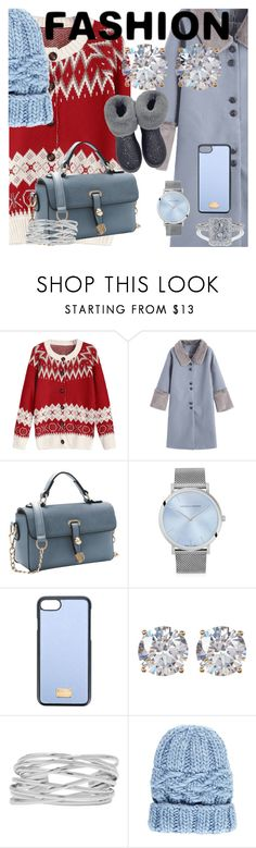 """Winter Fashion"" by drahuschka ❤ liked on Polyvore featuring Larsson & Jennings, Dolce&Gabbana, Nordstrom Rack, M&Co and Eugenia Kim"