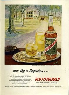 Vintage Alcohol Ads of the 1950s