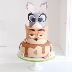Happy birthday to the sweetest little girl @iheartemmy! Zootopia for this…