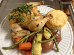 Cornish Hens One Pot